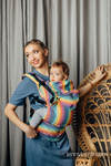 LennyGo Ergonomic Carrier, Toddler Size, broken-twill weave 100% cotton - LUNA