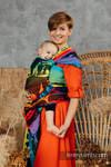 Fular, tejido jacquard (100% algodón) - RAINBOW SAFARI 2.0 - talla M