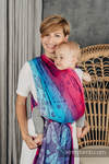 Fular, tejido jacquard (100% algodón) - DRAGONFLY- FAREWELL TO THE SUN - talla XS