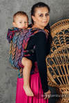 LennyGo Ergonomic Carrier, Toddler Size, jacquard weave 100% cotton - TANGLED - BEHIND THE SUN