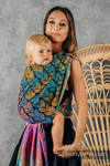 Baby Wrap, Jacquard Weave (100% cotton) - TANGLED - BEHIND THE SUN - size XS