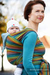 Baby Sling, Broken Twill Weave (100% Cotton) - GAIA - size XL