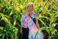 Żakardowa chusta kółkowa do noszenia dzieci, bawełna - JASKÓŁKI TĘCZOWE LIGHT - standard 1.8m #babywearing
