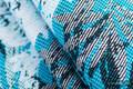 Baby Wrap, Jacquard Weave (100% cotton) - FLUTTERING DOVES  - size L #babywearing
