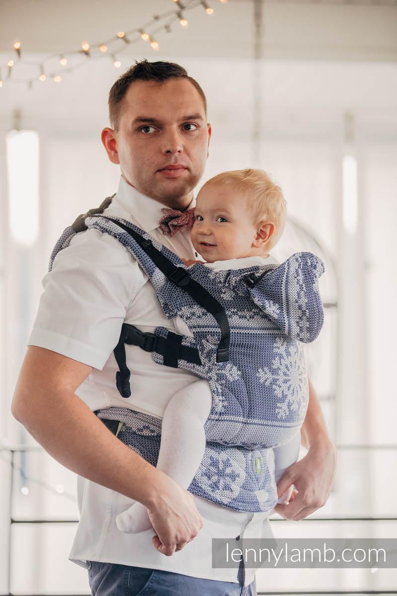 Ergonomic Carrier Baby Size Jacquard Weave 80 Cotton