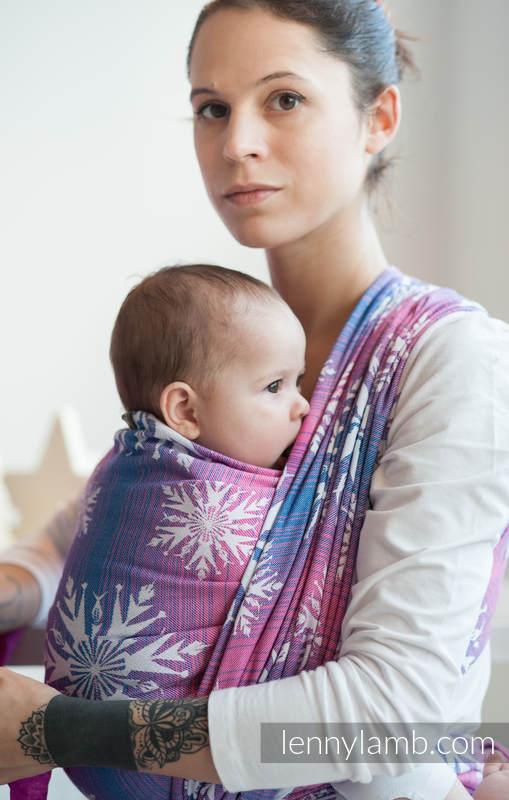 Baby Wrap Jacquard Weave 100 Cotton Winter Delight Size L