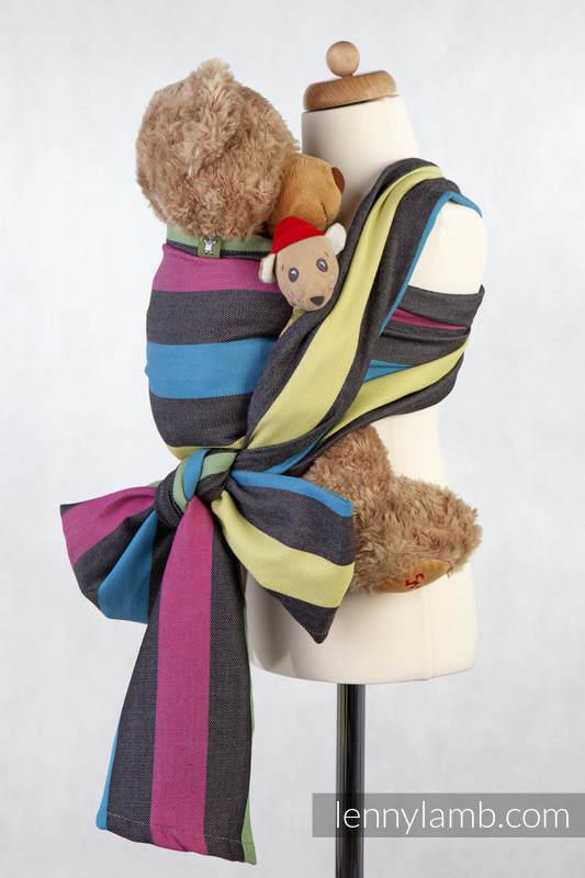 Doll Sling, Broken Twill Weave, 60% cotton 40% bamboo - TWILIGHT #babywearing