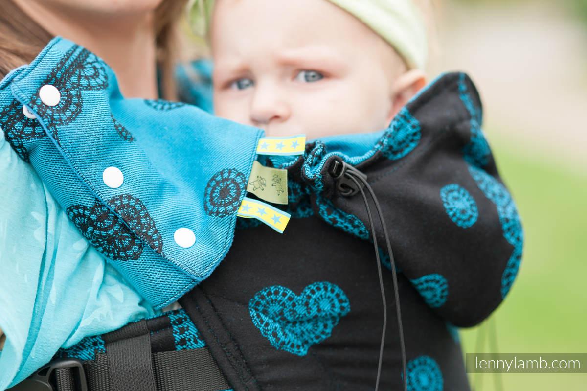 Schultergurtschoner (60% Baumwolle, 40% poliester) - DIVINE LACE REVERS  #babywearing