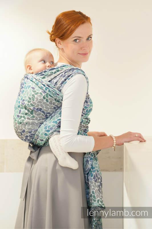 Baby Wrap Jacquard Weave 100 Cotton Colors Of Heaven Size S