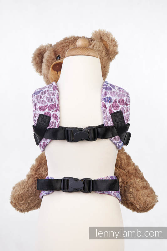 Doll Carrier made of woven fabric, 100% cotton  - COLORS OF FANTASY #babywearing