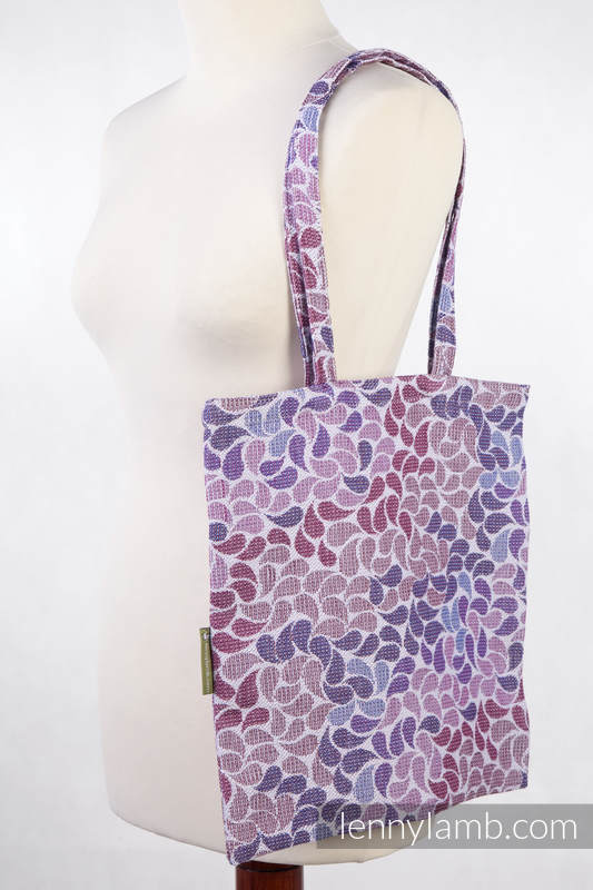 Shopping bag made of wrap fabric (100% cotton) - COLORS OF FANTASY #babywearing