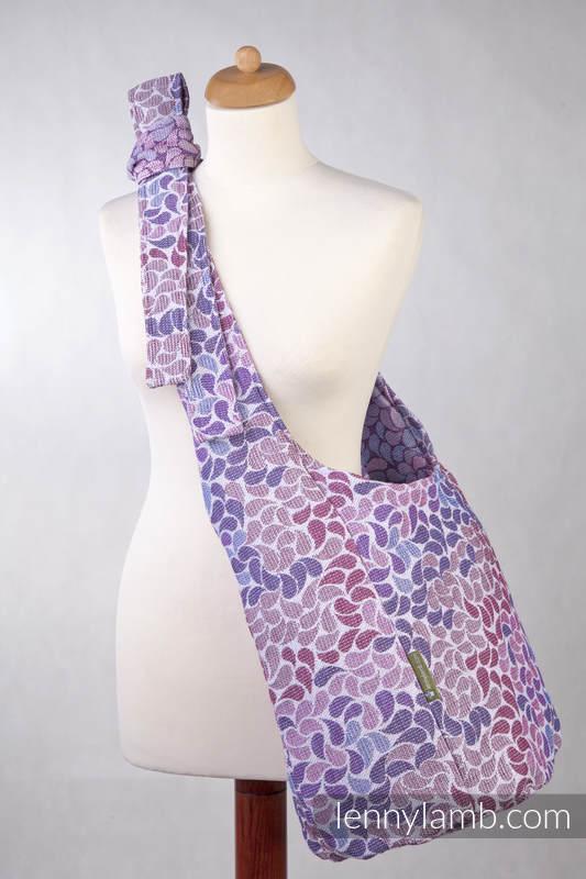 Hobo Bag made of woven fabric, 100% cotton - COLORS OF FANTASY (grade B) #babywearing