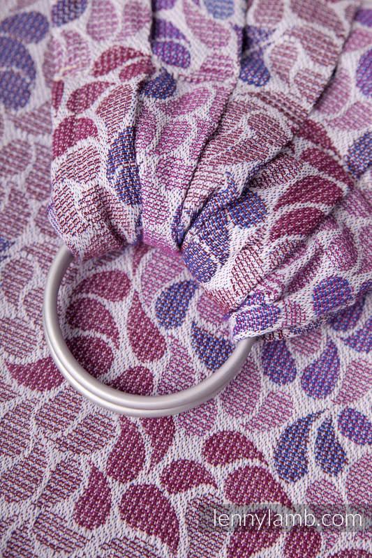 Ringsling, Jacquard Weave (100% cotton) - COLORS OF FANTASY - standard 1.8m #babywearing