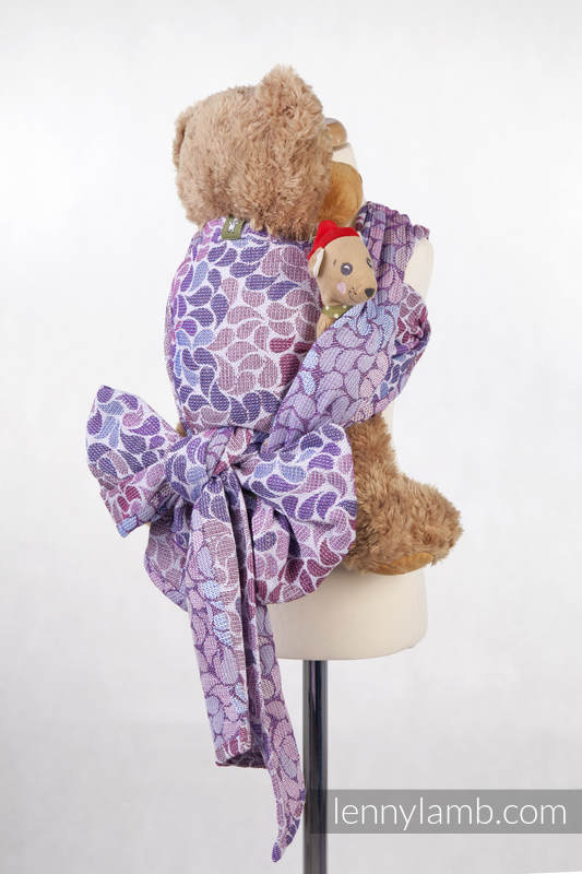 Doll Sling, Jacquard Weave, 100% cotton - COLORS OF FANTASY #babywearing
