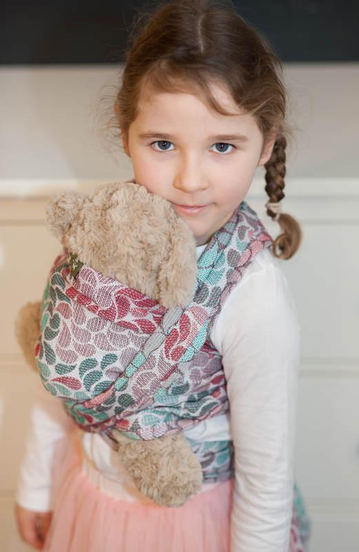 Żakardowa chusta dla lalek, 100% bawełna - ILUMINACJA LIGHT  #babywearing