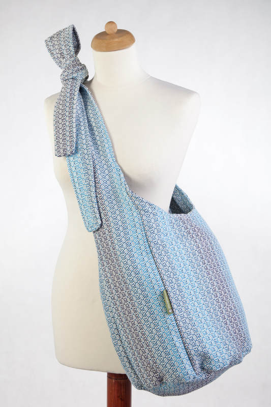 Hobo Bag Made Of Woven Fabric 100 Cotton Little Love Breeze