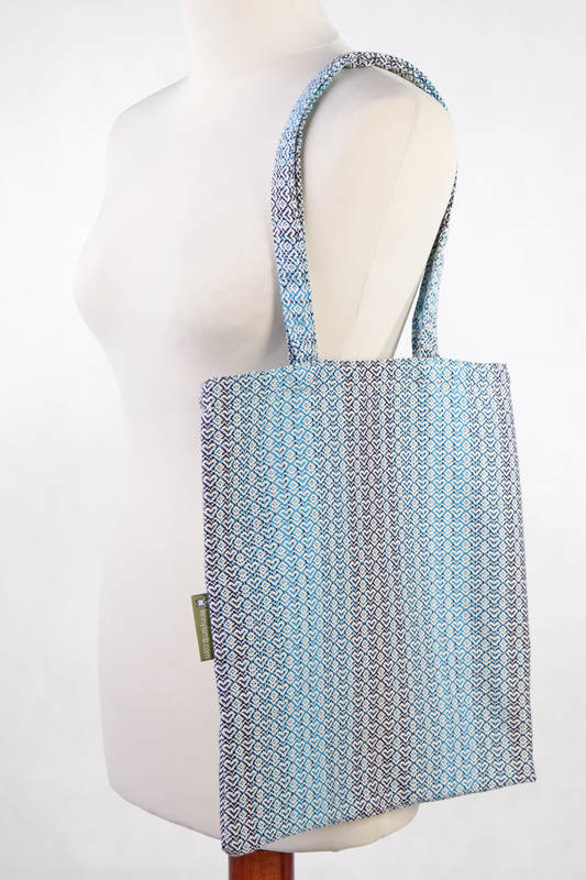 Shopping bag made of wrap fabric (100% cotton) - LITTLE LOVE - BREEZE #babywearing