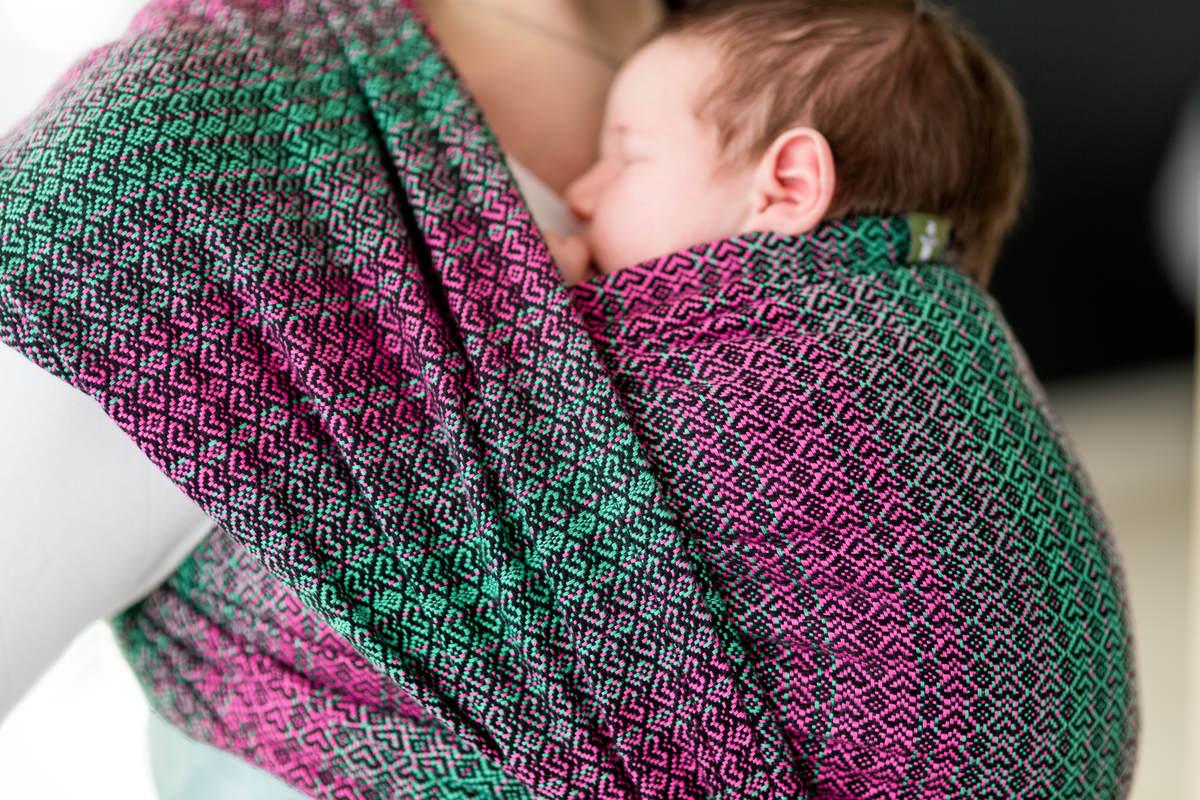 Baby Wrap Jacquard Weave 100 Cotton Little Love
