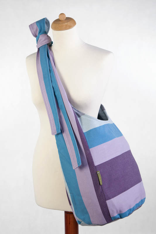 Hobo Bag made of woven fabric, 100% cotton - ICELANDIC DIAMOND (grade B) #babywearing