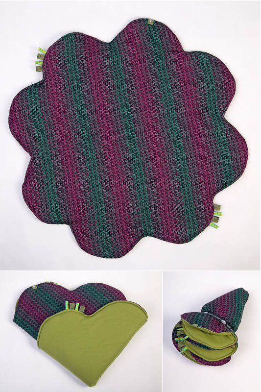 Lenny Baby Mat Outer Layer 100 Cotton Stuffing 100