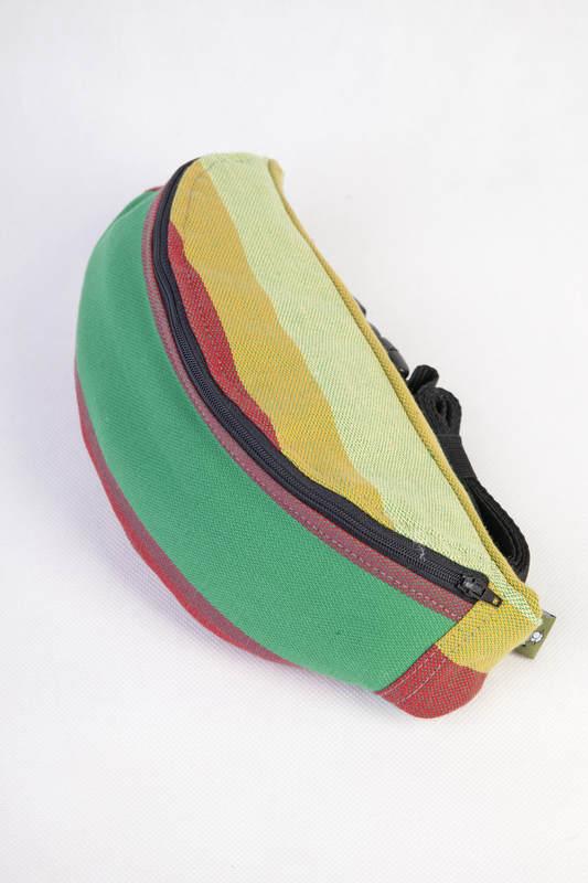 Waist Bag made of woven fabric, (100% cotton) - INDIAN SUMMER #babywearing