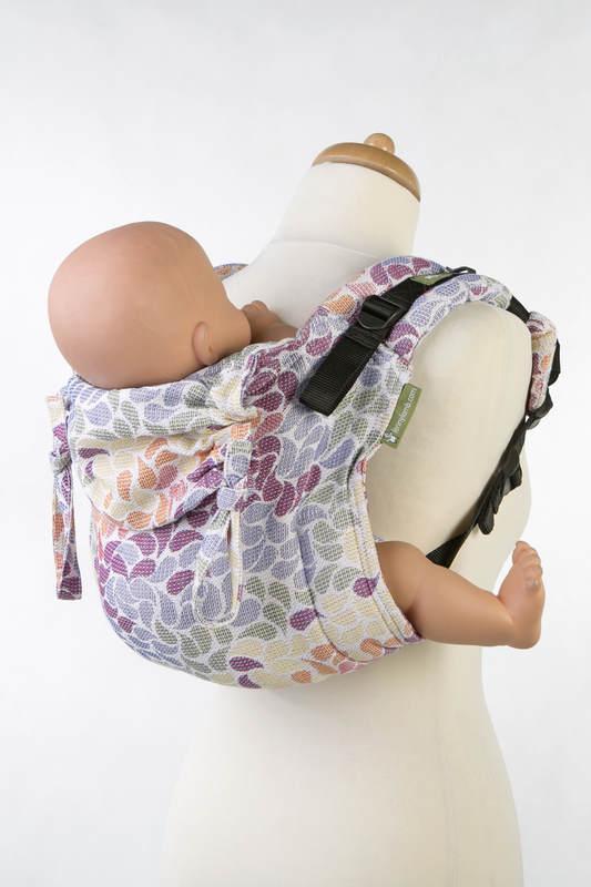 Nosidło Klamrowe ONBUHIMO z tkaniny żakardowej (100% bawełna), rozmiar Toddler - KOLORY ŻYCIA #babywearing