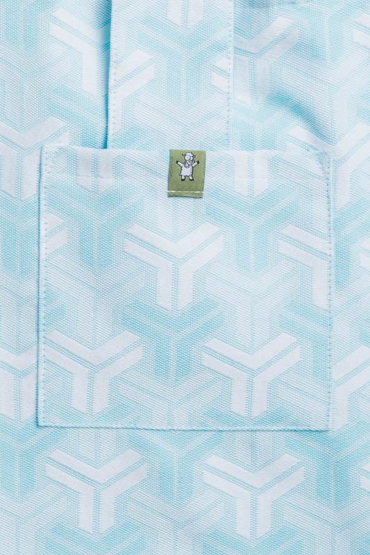 Shoulder bag made of wrap fabric (100% cotton) - TRINITY - standard size 37cmx37cm (grade B) #babywearing