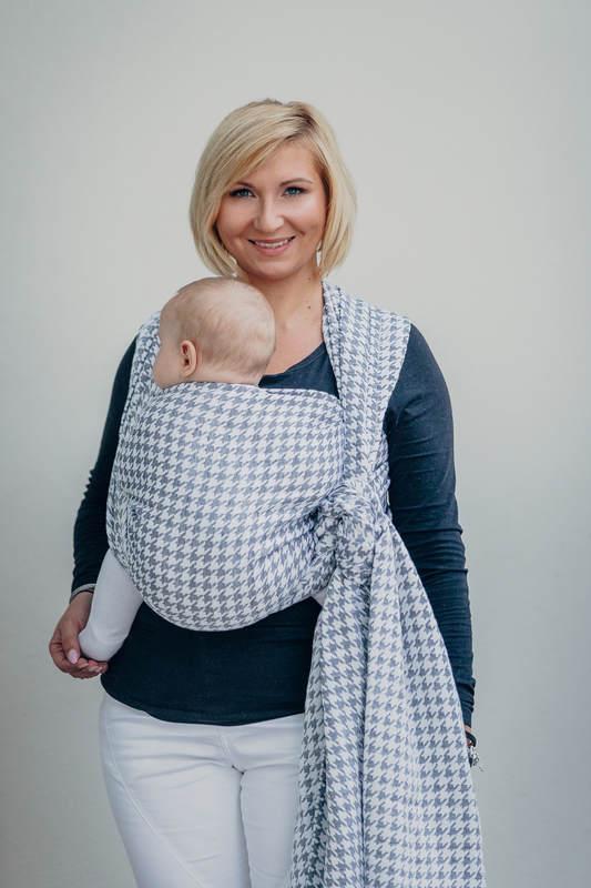 Baby Wrap Jacquard Weave 60 Cotton 40 Linen Little Pepitka