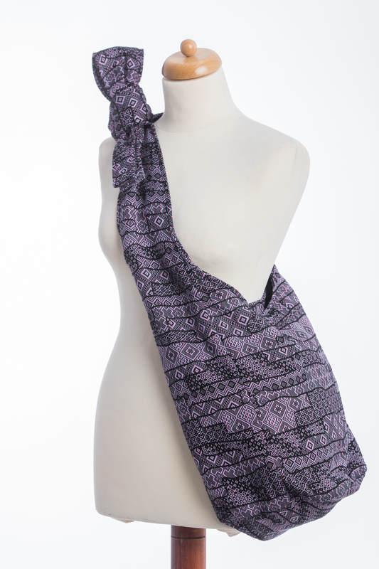 Hobo Bag made of woven fabric - ENIGMA PURPLE (grade B) #babywearing
