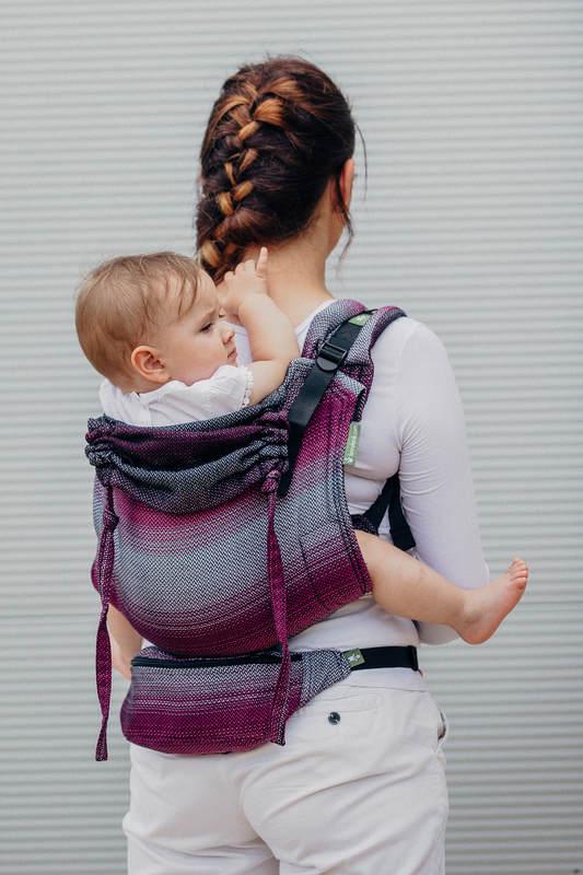 Waist Bag made of woven fabric, (100% cotton) - LITTLE HERRINGBONE INSPIRATION  #babywearing