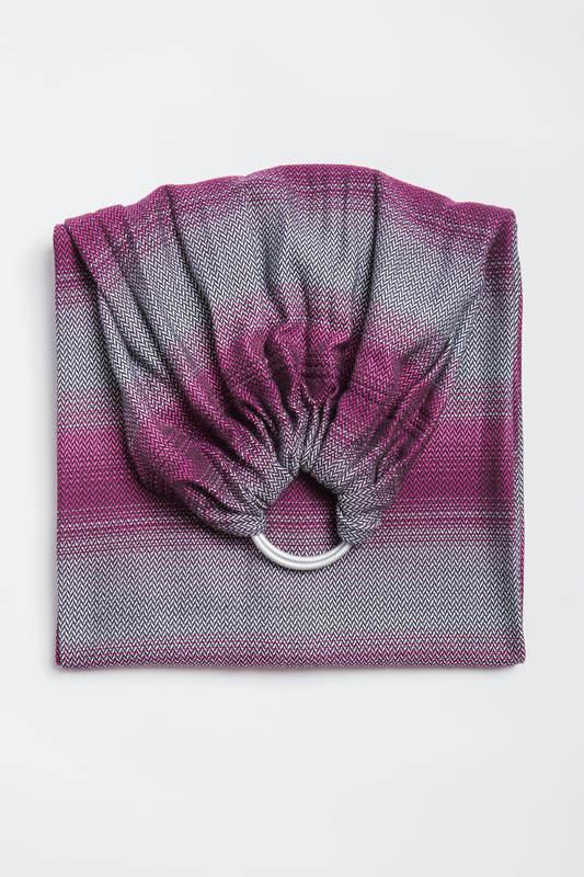 Ringsling, Herringbone Weave (100% cotton) - with gathered shoulder - LITTLE HERRINGBONE INSPIRATION  #babywearing