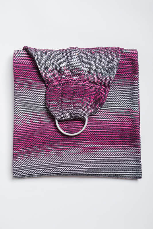 Ringsling, Jacquard Weave (100% cotton) - LITTLE HERRINGBONE INSPIRATION - standard 1.8m #babywearing