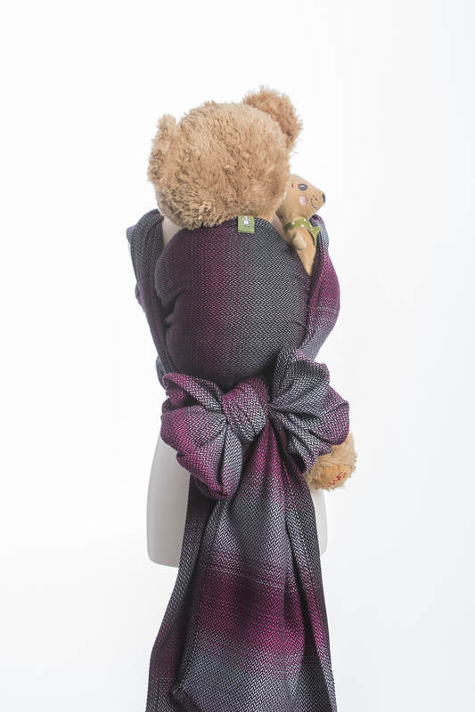 Puppentragetuch, Fischgrätmuster, 100% Baumwolle - LITTLE HERRINGBONE INSPIRATION  #babywearing