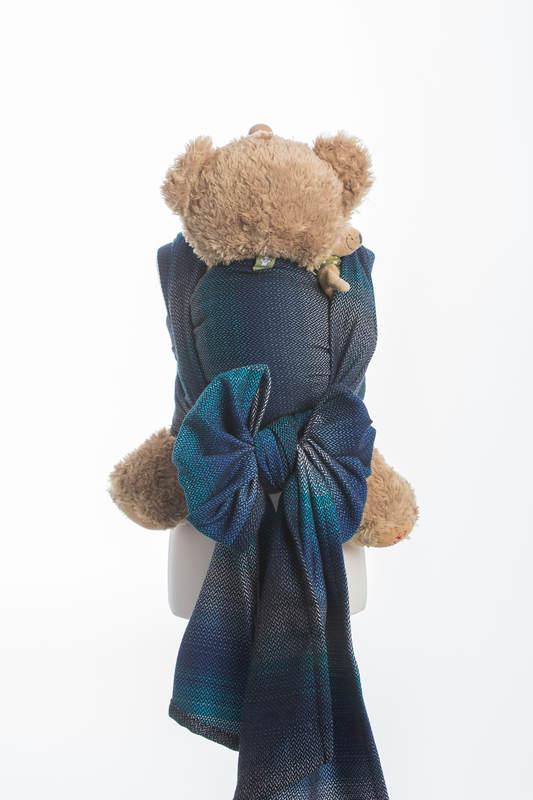 Doll Sling, Herringbone Weave, 100% cotton - LITTLE HERRINGBONE ILLUSION #babywearing
