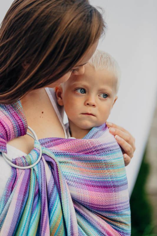 Ringsling, Herringbone Weave (100% cotton) - LITTLE HERRINGBONE TAMONEA (grade B) #babywearing