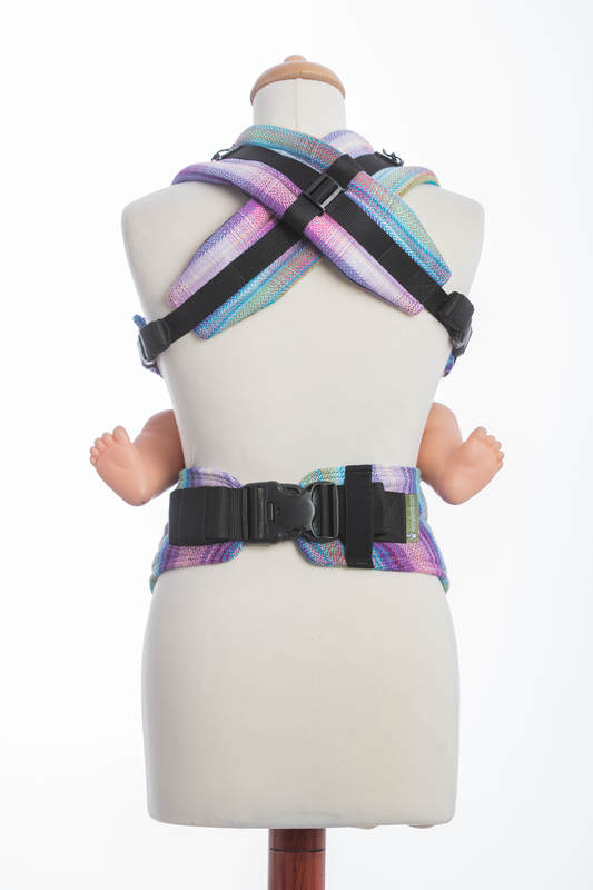 Nosidełko Ergonomiczne , splot jodełkowy, 100% bawełna , Baby Size, MAŁA JODEŁKA TAMONEA - Druga Generacja #babywearing