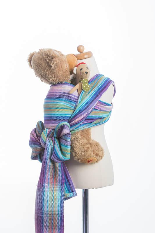 Doll Sling, Herringbone Weave, 100% cotton - LITTLE HERRINGBONE TAMONEA #babywearing