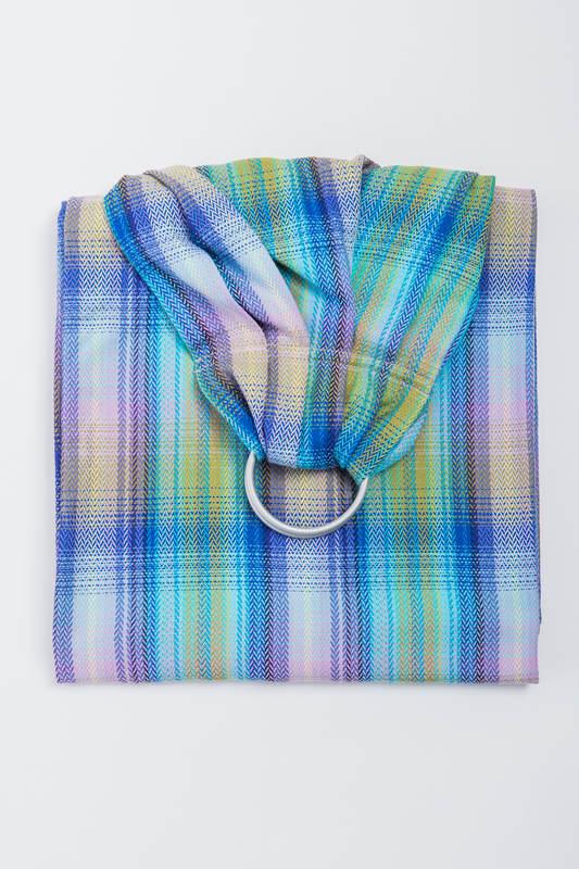 Ringsling, Herringbone Weave (100% cotton) - LITTLE HERRINGBONE PETREA - long 2.1m #babywearing