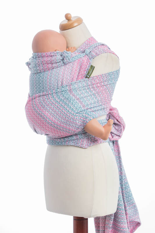 599828fd434 WRAP-TAI carrier Toddler with hood  jacquard twill   60% cotton