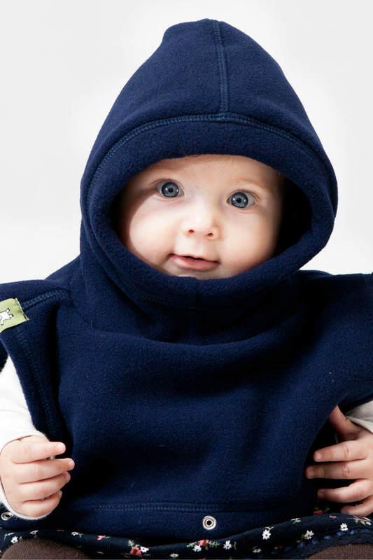 Cubrecuellos doble - azul marino #babywearing