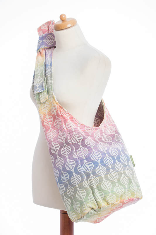 Hobo Bag made of woven fabric (100% cotton) - TULIP PETALS #babywearing