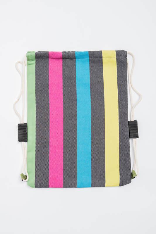 Plecak/worek - 60% bawełna 40% bambus - ZMIERZCH - uniwersalny rozmiar 32cmx43cm #babywearing