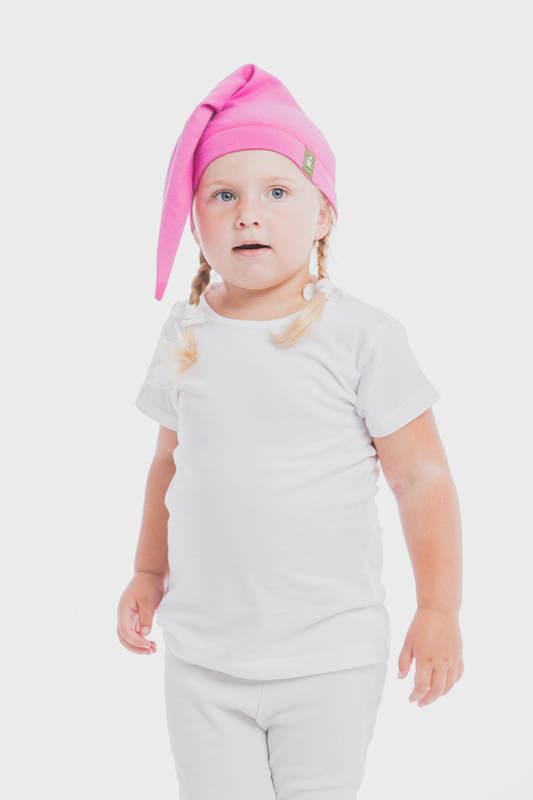 Gorrito de elfo (100% algodón) - talla XL - Fuchsia #babywearing