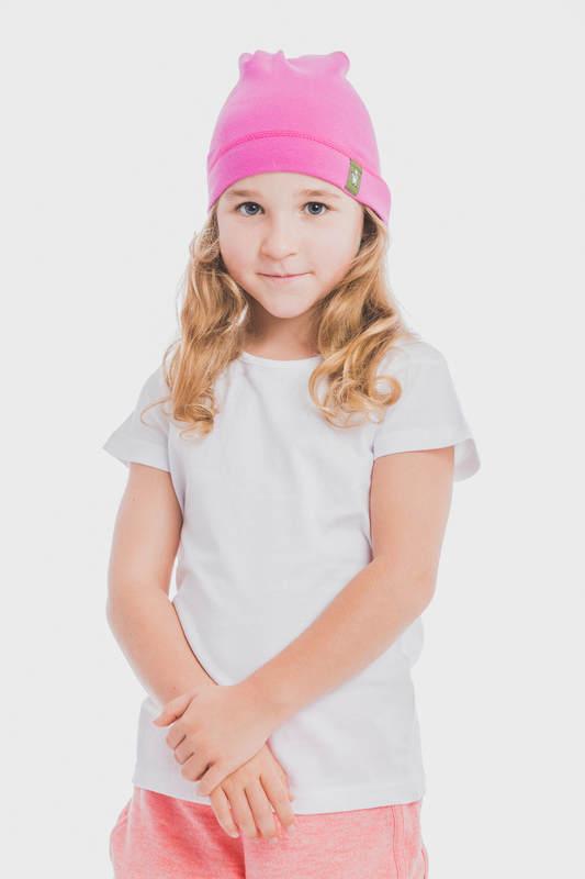 Elf Baby Hat (100% cotton) - size S - Fuchsia #babywearing