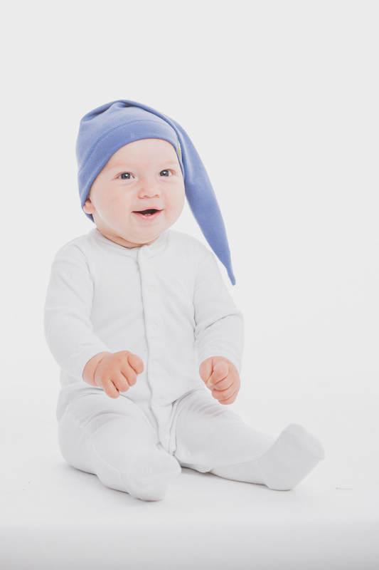 Gorrito de elfo (100% algodón) - talla S - Lapis Lazuli #babywearing