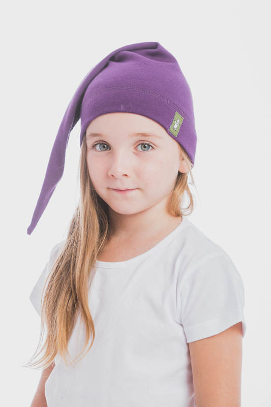 Elf Baby Hat (100% cotton) - size L - Sugilite #babywearing