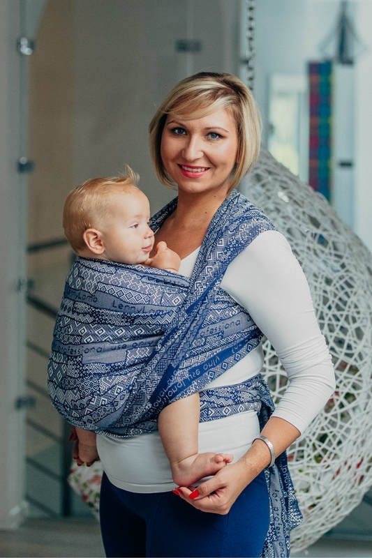 Baby Wrap Jacquard Weave 100 Cotton For Professional Use