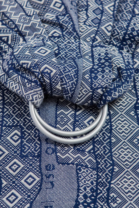 Ringsling, Jacquard Weave (100% cotton) - FOR PROFESSIONAL USE EDITION - ENIGMA 1.0 - long 2.1m #babywearing