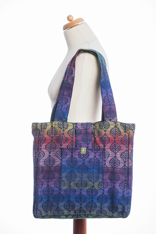 Shoulder bag made of wrap fabric (100% cotton) - DAHLIA PETALS - standard size 37cmx37cm #babywearing