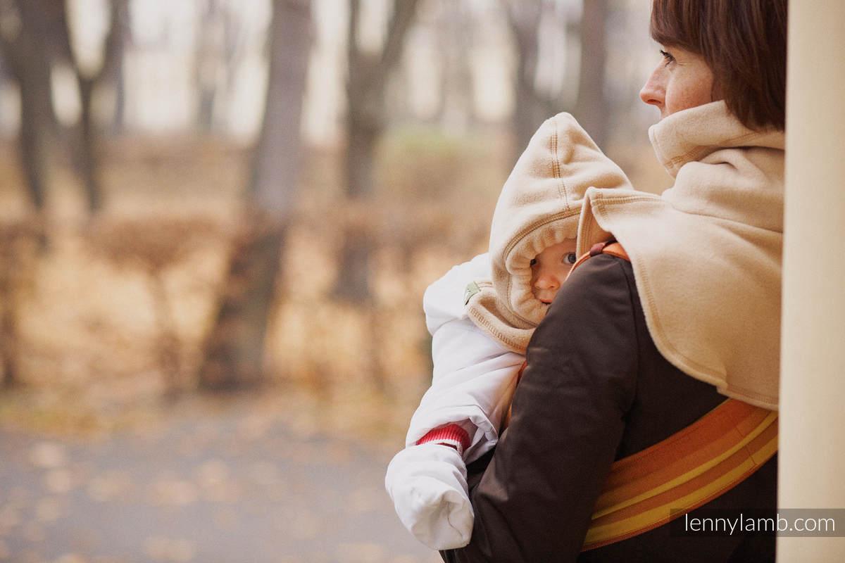 Turtleneck for two - beige #babywearing